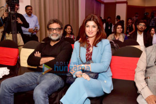 Twinkle Khanna and R Balki grace the Pad Man talk