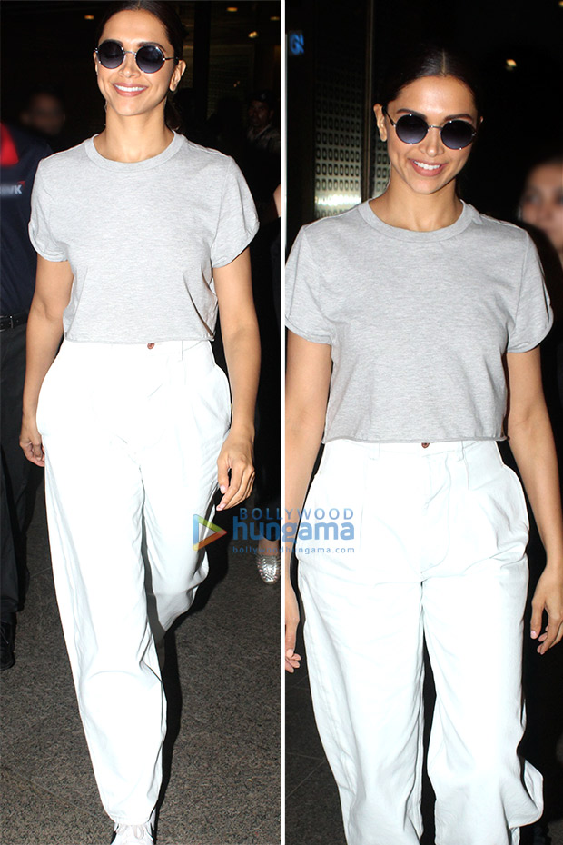 Weekly Airport Style: Deepika Padukone