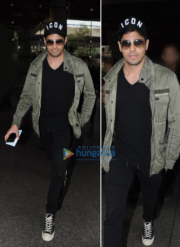 Weekly Airport Style: Sidharth Malhotra