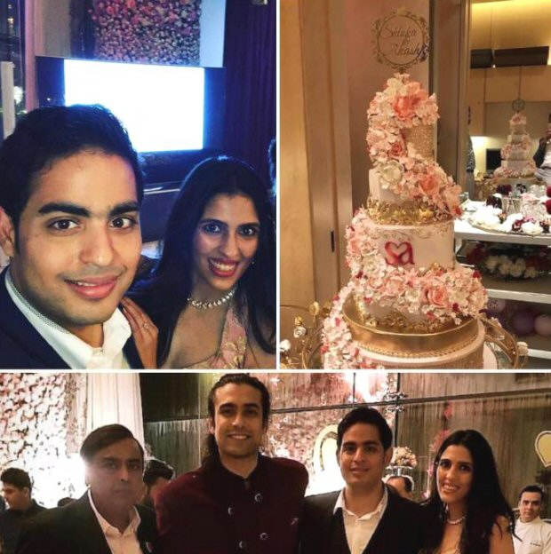 5 inside pictures you MISSED from the Akash Ambani-Shloka Mehta pre-engagement party