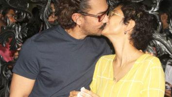 Aamir Khan SMOOCHES Kiran Rao and celebrates his birthday (see pics) features