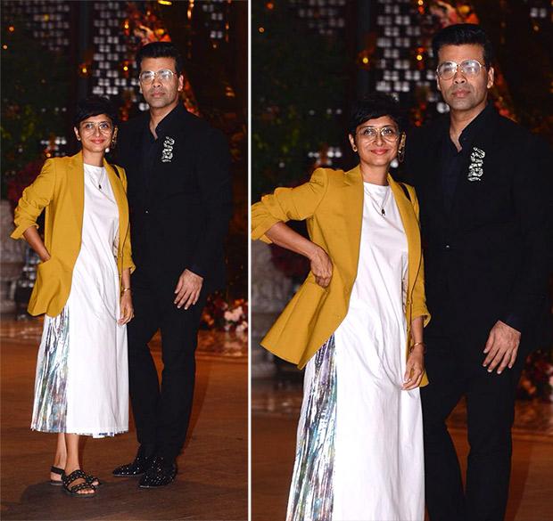 Akash Ambani-Shloka Mehta engagement bash: Kiran Rao and Karan Johar