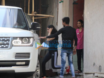 Amitabh Bachchan's granddaughter Navya Naveli Nanda snapped at the clinic