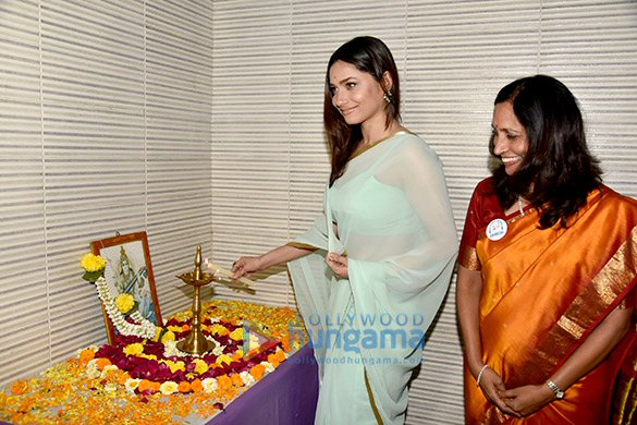 Ankita Lokhande at Animedh NGO
