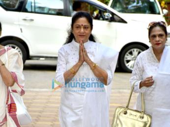Celebs attend Shammi Anuty's prayer meet