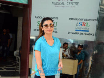 Daisy Shah spotted after a salon session in Bandra