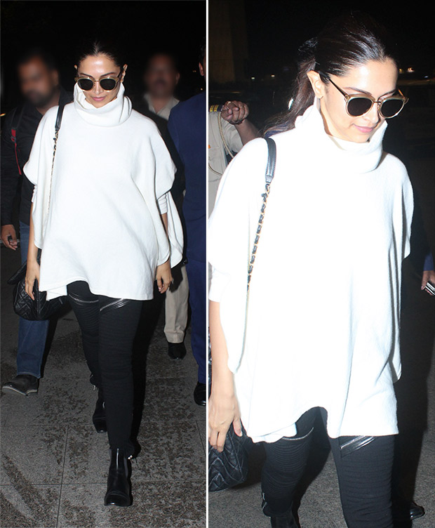 Deepika Padukone flaunts her love for monochrome