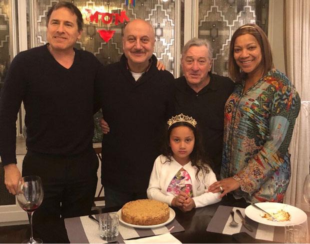 Hollywood legend Robert De Niro surprises Anupam Kher on his birthday