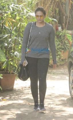 Huma Qureshi snapped in Bandra