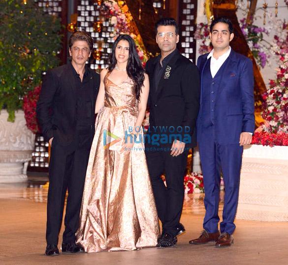 In Pics: Katrina Kaif, Aishwarya Rai, Shah Rukh Khan-Gauri, Kiran Rao sans Aamir Khan attend Akash Ambani's engagement party