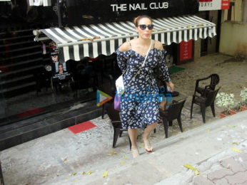 Iulia Vantur snapped at Tip & Toe in Juhu