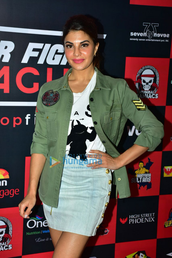Jacqueline Fernandez snapped at the MTV Super Fight League launch