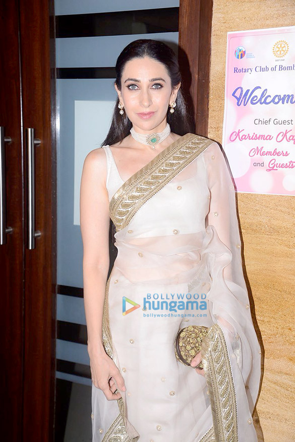 Karisma Kapoor snapped at Rotary Club of Bombay West