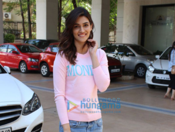 Kriti Sanon and Nupur Sanon snapped in Mumbai