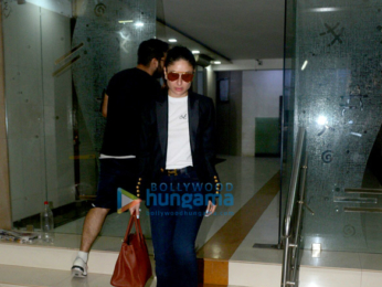 Malaika Arora, Kareena Kapoor Khan and Amrita Arora snapped at friends house for dinner in Bandra