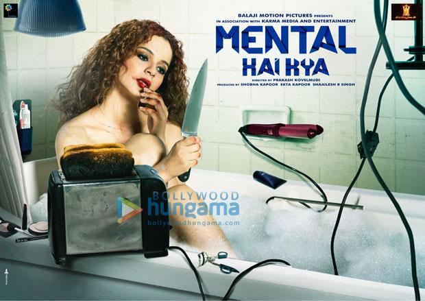 Mental Hai Kya: Kangana Ranaut is raw, dishevelled, naked in a bathtub