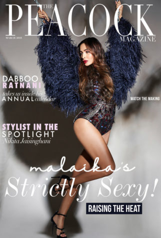 Malaika Arora On The Cover Of Peacock
