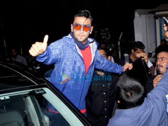Ranveer Singh snapped outside Otters Club