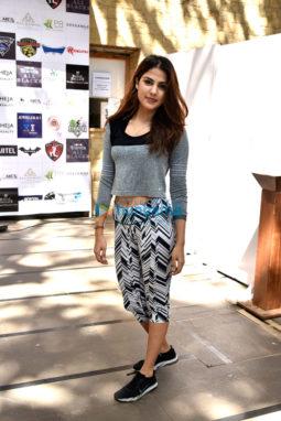 Rhea Chakraborty snapped in Mumbai