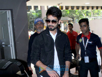Shahid Kapoor, Kajal Aggarwal and others snapped at the airport