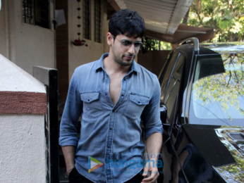 Sidharth Malhotra snapped at Matrix office