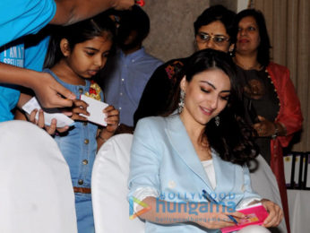Soha Ali Khan attends the Classmate Spelling Bee event