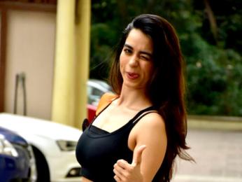Soundarya Sharma spotted in Andheri
