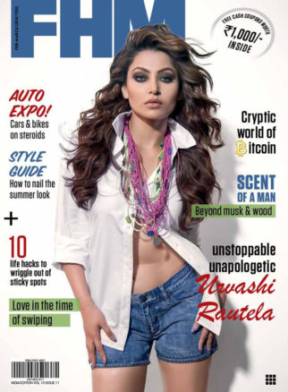 Urvashi Rautela On The Cover Of FHM, Mar 2018