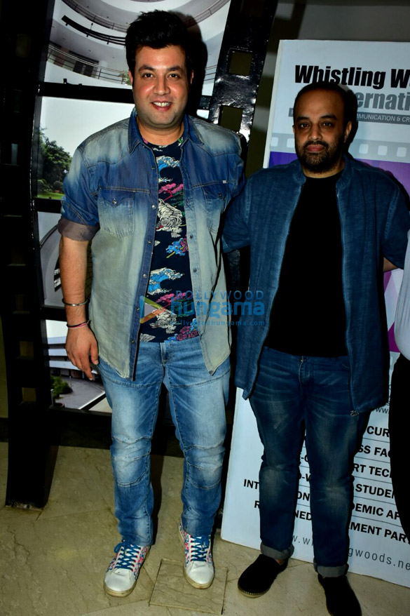 Varun Sharma snapped at Whistling Woods International