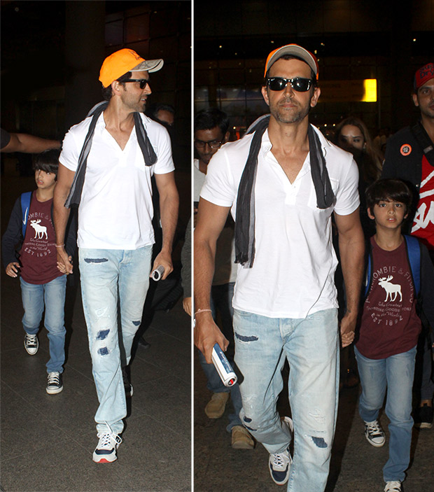 Weekly Celeb Airport Style: Hrithik Roshan