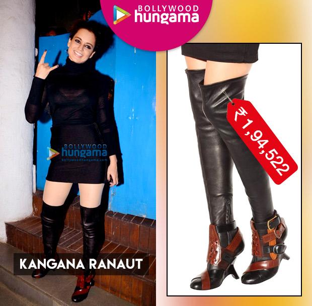 Weekly Celeb Splurges: Kangana Ranaut
