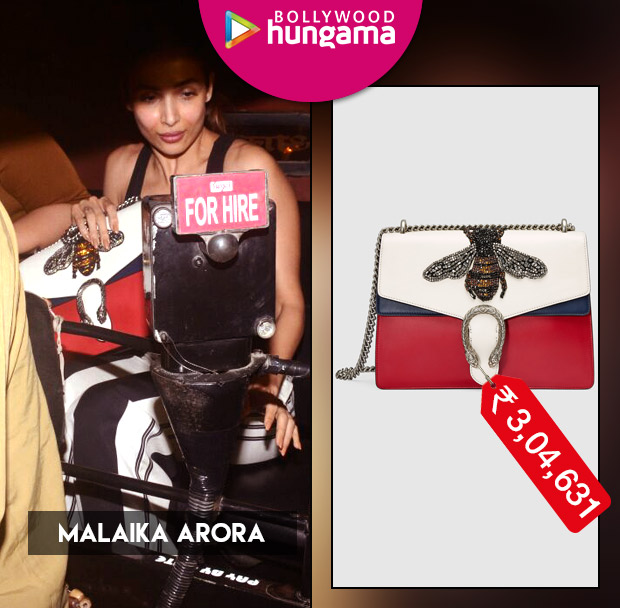 Weekly Celebrity Splurges: Malaika Arora with a Gucci handbag