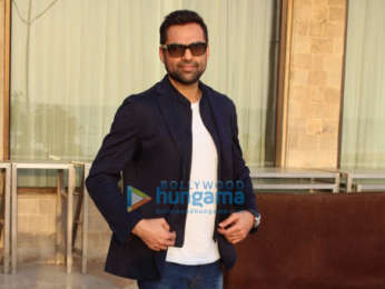 Abhay Deol and Patralekha snapped post media interactions for Nanu Ki Jaanu at Sun N Sand