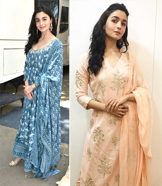 Alia Bhatt for Raazi promotions