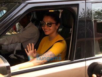 Anushka Sharma spotted at the Mehboob Studio