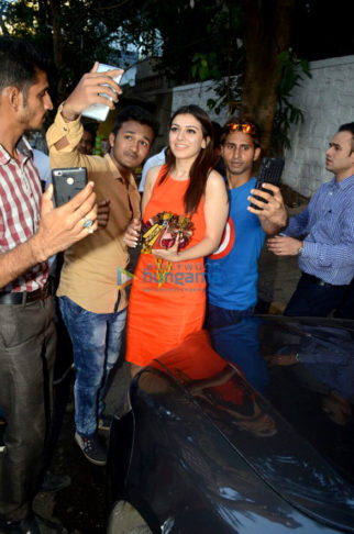 Hansika Motwani snapped at The Korner House
