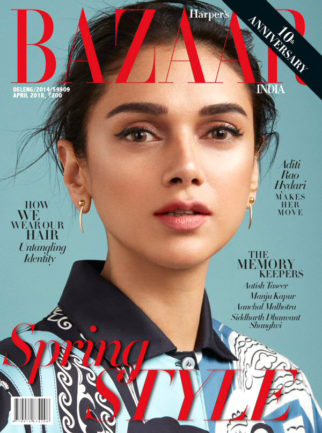 Aditi Rao Hydari On the covers Of Harper's Bazaar