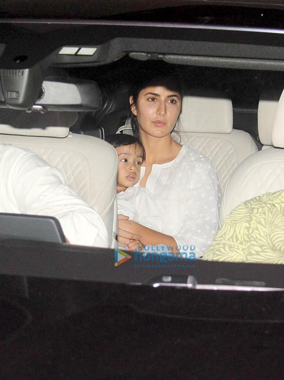 Katrina Kaif snapped with Salman Khan's nephew Aahil Sharma in Bandra