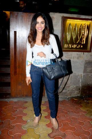 Priya Banerjee snapped at Indigo in Bandra