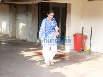 Sara Ali Khan snapped at the gym
