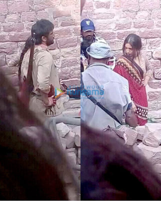 On The Sets Of The Movie Sonchiriya