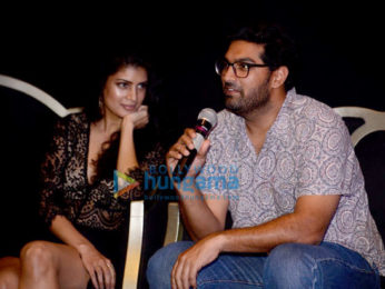 Sujoy Ghosh, Surveen Chawla, Vikrant Massey, Tina Desai and Kunal Roy Kapur grace the press meet for a new series