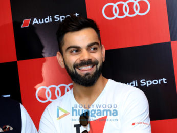 Virat Kohli snapped launching the second generation of the Audi RS5 Coupe