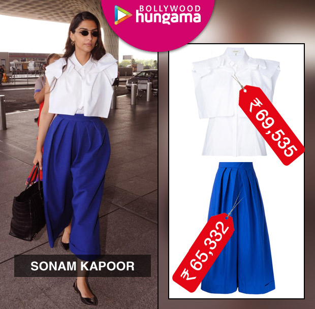 Weekly Celebrity Splurges - Sonam Kapoor in Delpozo