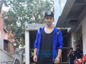 Aayush Sharma spotted in Bandra