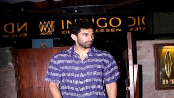 Aditya Roy Kapur spotted at Indigo in Bandra