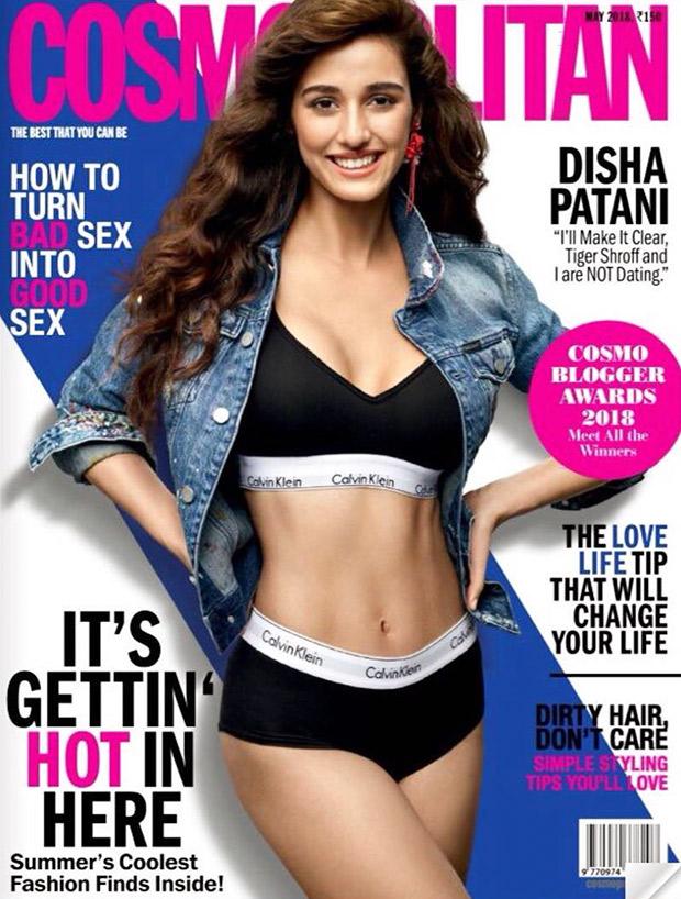 Disha Patani flaunts those toned abs for Cosmopolitan India