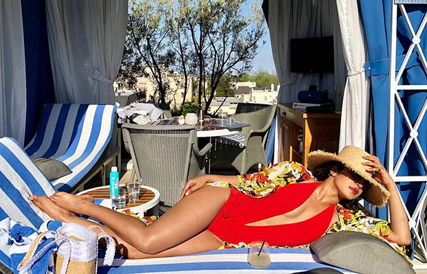HOT! Priyanka Chopra's red monokini pic is the stuff of every (DIRTY) fantasy!