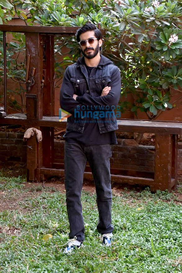 Harshvardhan Kapoor snapped promoting his film Bhavesh Joshi Superhero