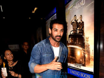 John Abraham snapped during Parmanu – The Story of Pokhran promotions